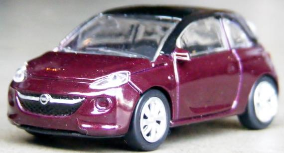 Opel Adam - Purple Fiction - elasto form KG - 1:64