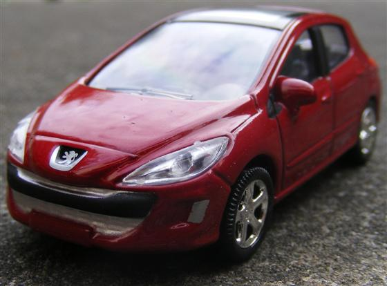 They made this special edition Peugeot 207cc Roland Garros afbeelding